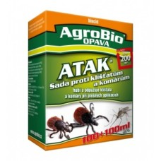 ATAK - Sada proti klíšťatům a komárům 50ml + 50ml