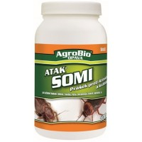 AgroBio Atak Somi prášek proti štěnicím a švábům 200 g
