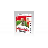 ATTACK obojek pro psy antiparazitní 65 cm