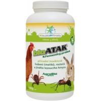 BioAtak křemenitý prášek proti mravencům, klíšťatům, čmelíkům atd.