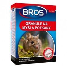 Bros - granule na myši a potkany 140g - rodenticid