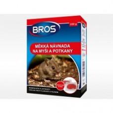 Bros - měkká nástraha na myši a potkany 150 g - rodenticid