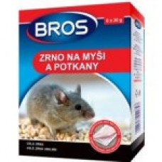 Bros zrní na myši a potkany 120g - rodenticid