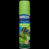 BROS Zelená síla - sprej proti mouchám a komárům