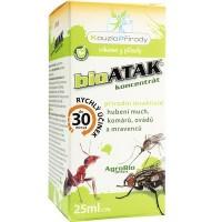 KP bioATAK koncentrát - přírodní insekticid na hubení much, komárů, mravenců, ovádů atd.