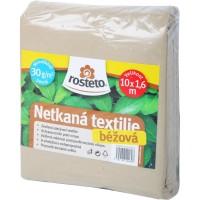 Netkaná textilie Rosteto - béžová Neotex 30g