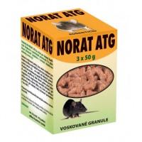 Norat ATG 3x50g - voskové granule - rodenticid