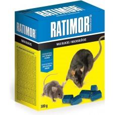 Ratimor - parafinové bloky - parafinové kostky nástraha na hlodavce