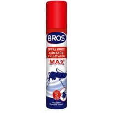 Bros - sprej proti komárům a klíšťatům MAX 90 ml