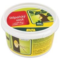 Štěpařský vosk s přídavkem včelího vosku v kelímku