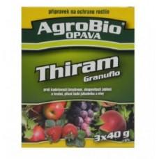 Thiram Granuflo 3x40g - proti kadeřavosti, plísni a strupovitosti
