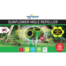 Weitech WK2018 - solární odpuzovač krtků - slunečnice -  2ks